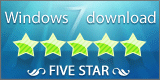 Five stars award Windows 7 Download
