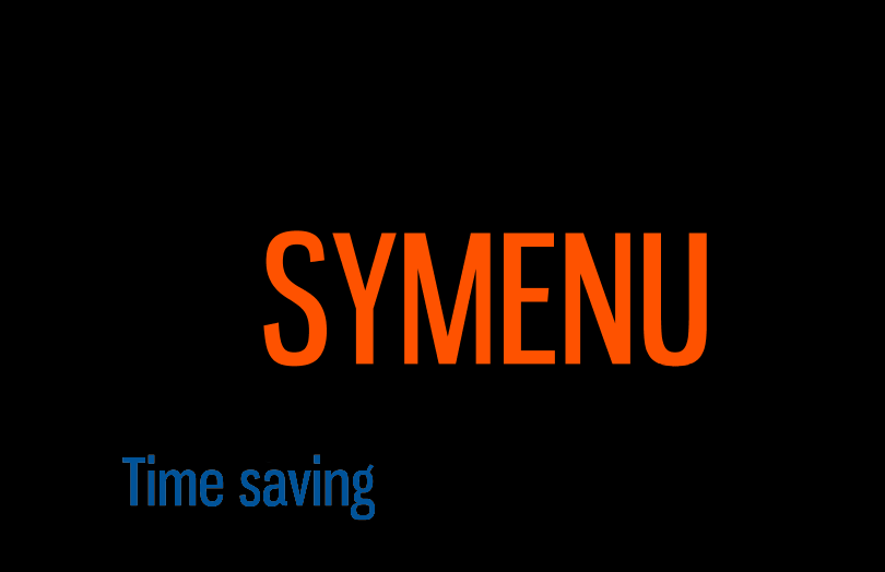 SyMenu Time saving